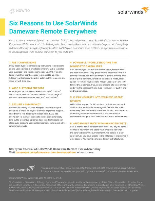 Resource Center | Dameware